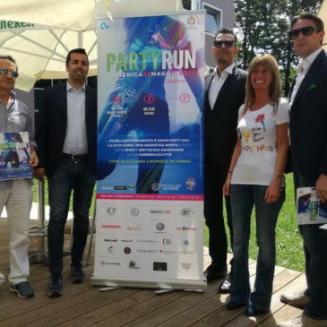 La Party Run si presenta al pubblico